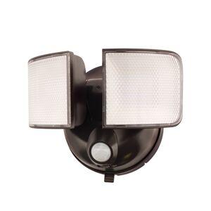 Halo Motion-Sensing Battery Powered LED Bronze Floodlight