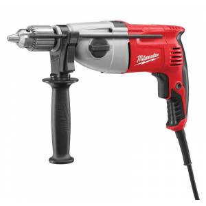 Milwaukee 1/2 in. Keyed Corded Hammer Drill Kit 7.5 amps 2500 rpm