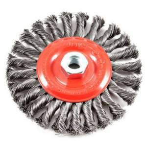 Forney 6 in. Crimped Wire Wheel Brush Metal 9000 rpm 1 pc