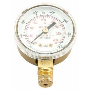 Forney 5.75 in. L X 3.88 in. W Regulator Gauge Brass 1 pk