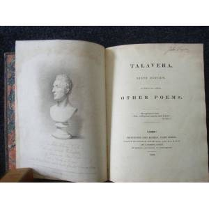 Talavera. Ninth Edition : to which are added Other Poems [WITH] Tribute To The Memory of the Rt Hon Spencer Perceval. By a Friend. Second Edition. [C