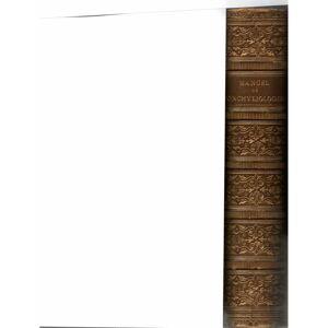 Manuel de conchyliologie et de paléontologie conchyliologique. 2 Vols. bound in 1. CHENU, J. C. [Very Good] [Hardcover]