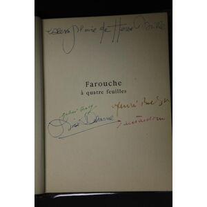 Farouche à quatre feuilles. Breton, André, Lise Deharme Julien Gracq u. a. [Fine] [Hardcover]