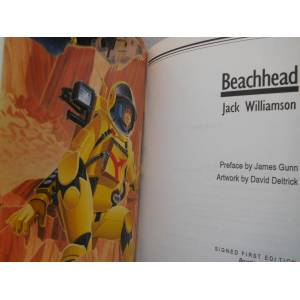 BEACHHEAD (Pristine Signed Limited Edition) Williamson, Jack [As New] [Hardcover]