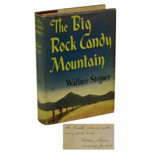 The Big Rock Candy Mountain Stegner, Wallace [Very Good] [Hardcover]