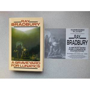 A GRAVEYARD FOR LUNATICS: (Very Fine Signed & 1990-Dated Copy) Bradbury, Ray [Fine] [Hardcover]