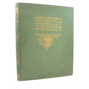 SHAKESPEARE'S COMEDY OF THE MERRY WIVES OF WINDSOR Shakespeare, William [Very Good] [Hardcover]