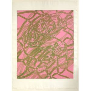 Stanley William Hayter etching Gemini S.W.Hayter engraving with etching, aquatint and soft-ground etching in colours on BFK Rives wove. Signed, dated