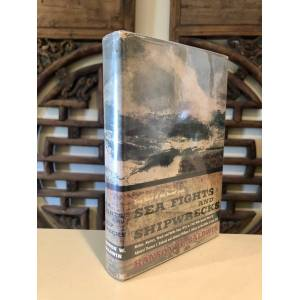 Sea Fights and Shipwrecks True Tales of the Seven Seas -- TLS from author laid-in BALDWIN, Hanson W. [Fine] [Hardcover]