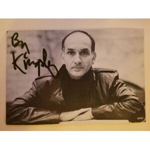 Four Autographed Photos of Ben Kingsley (plus autograph card) [KINGSLEY, Ben] [Fine]