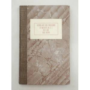 History and Legal Proceedings of Buckskin Joe, C.T. 1859-1862: Accompanying the Mining Laws of the District Mumey, Nolie [Near Fine] [Hardcover]
