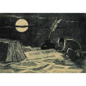 Octave Uzanne Carte de voeux artistique Henri Guérard [Fine]