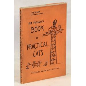 Old Possum's Book of Practical Cats Eliot, T.S. [Near Fine] [Hardcover]