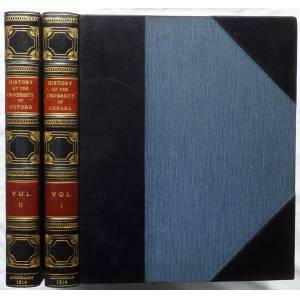 A History of the of the University of Oxford, its Colleges, Halls, and Public Buildings. ACKERMANN Rudolph 1764–1834 [Very Good] [Hardcover]