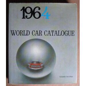 World Car Catalogue 1964. Sergio D'Angelo (Editor) [Near Fine] [Hardcover]