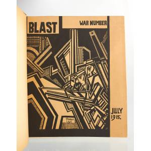 Blast - Review of the Great English Vortex, n°2 July 1915 COLLECTIF & POUND Ezra & WYNDHAM Lewis & GAUDIER-BRZESKA Henri & HUEFFER Ford Madox & ELIOT