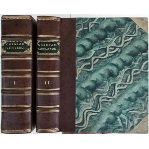 Conspectus Chemiae Theoretico-Practicae in Forma Tabularum Repraesentatus, in quibus physica, praesertim subterranea et corporum naturalium principia