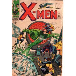 The X-MEN Marvel Comics Group, Vol. 1, No. 21, June 1966 Roy Thomas (writing); Stan Lee, ed. [Fair] [Softcover]