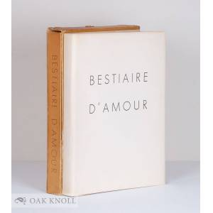 BESTIAIRE D'AMOUR Rostand, Jean [ ] [Hardcover]