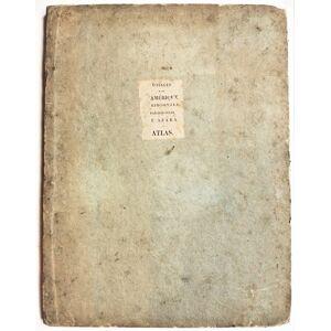Voyages dans l Amerique Meridionale. Atlas. Félix de Azara [Near Fine] [Hardcover]