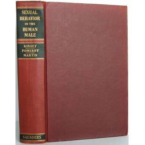 Sexual Behavior in the Human Male Kinsey, Alfred C.; Pomeroy, Wardell B.; Martin, Clyde E. [Fine] [Hardcover]