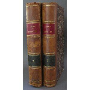 Historie du Pape Leon XII Artaud de Montor, (Alexis-Francois). [Very Good] [Hardcover]