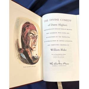 THE DIVINE COMEDY; Translated into English Verse by Melville Best Anderson; with Notes and Elucidations by the Translator, An Introduction by Arthur