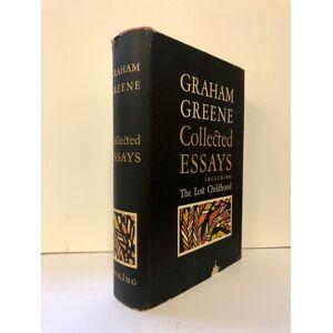 Collected Essays GREENE, Graham [Fine] [Hardcover]