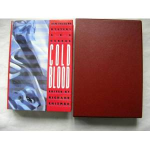 COLD BLOOD ( Pristine Signed Limited Edition ) Bentley Little, F Paul Wilson, Chet Williamson, Thomas Monteleone, Nancy Collins, Ramsey Campbell, Ric