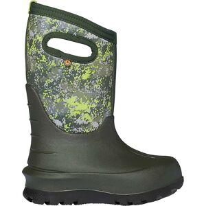 Bogs Youth Neo Classic Micro Camo Boot - 2 - Dark Grey Multi