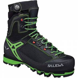 Salewa Men's Vultur Vertical GTX Boot - 10.5 - Black / Cactus- Men