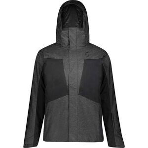 Scott USA Men's Ultimate Dryo Jacket - XL - Dark Grey Melange/ Black- Men