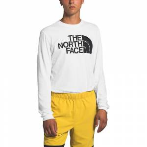 The North Face Men's Half Dome LS Tee - Large - TNF White- Men