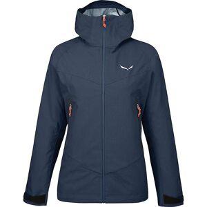Salewa Women's Fanes Wool POWERTEX Alpine WOOL Jacket - Large - Premium Navy Mel.- Women