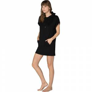 Beyond Yoga Women's It's All Hoodie Dress - Large - Black