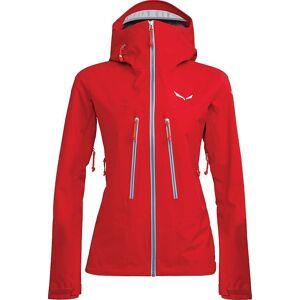 Salewa Women's Ortles 3 GTX Pro Jacket - XS - Tango Red- Women
