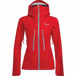 Salewa Women's Ortles 3 GTX Pro Jacket - Medium - Tango Red- Women