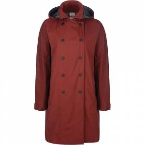66North Women's Laugavegur Neoshell Coat - Medium - 280 Ox Blood- Women