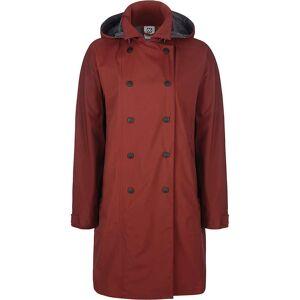 66North Women's Laugavegur Neoshell Coat - Small - 280 Ox Blood- Women
