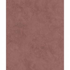 Advantage 57.8 sq. ft. Escher Oxblood Plaster Strippable Wallpaper Covers, Red
