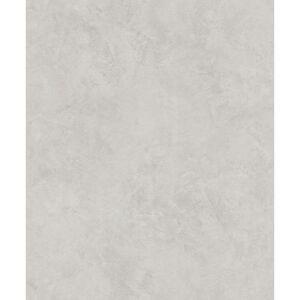 Advantage 57.8 sq. ft. Escher Light Grey Plaster Strippable Wallpaper Covers