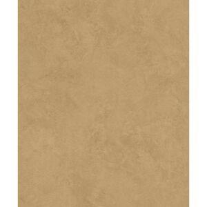 Advantage 57.8 sq. ft. Escher Gold Plaster Strippable Wallpaper Covers