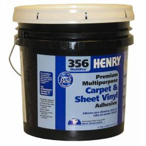 Henry 356 4 Gal. Multi-Purpose Sheet Vinyl and Carpet Adhesive