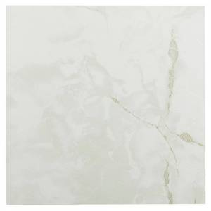 Achim Sterling Classic White Stone 12 in. x 12 in. Peel and Stick Vinyl Tile (20 sq. ft. / case), Light