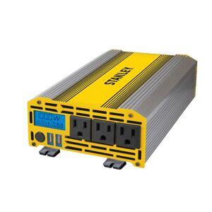 Stanley 1000-Watt Digital Triple-Outlet Portable Car Power Inverter