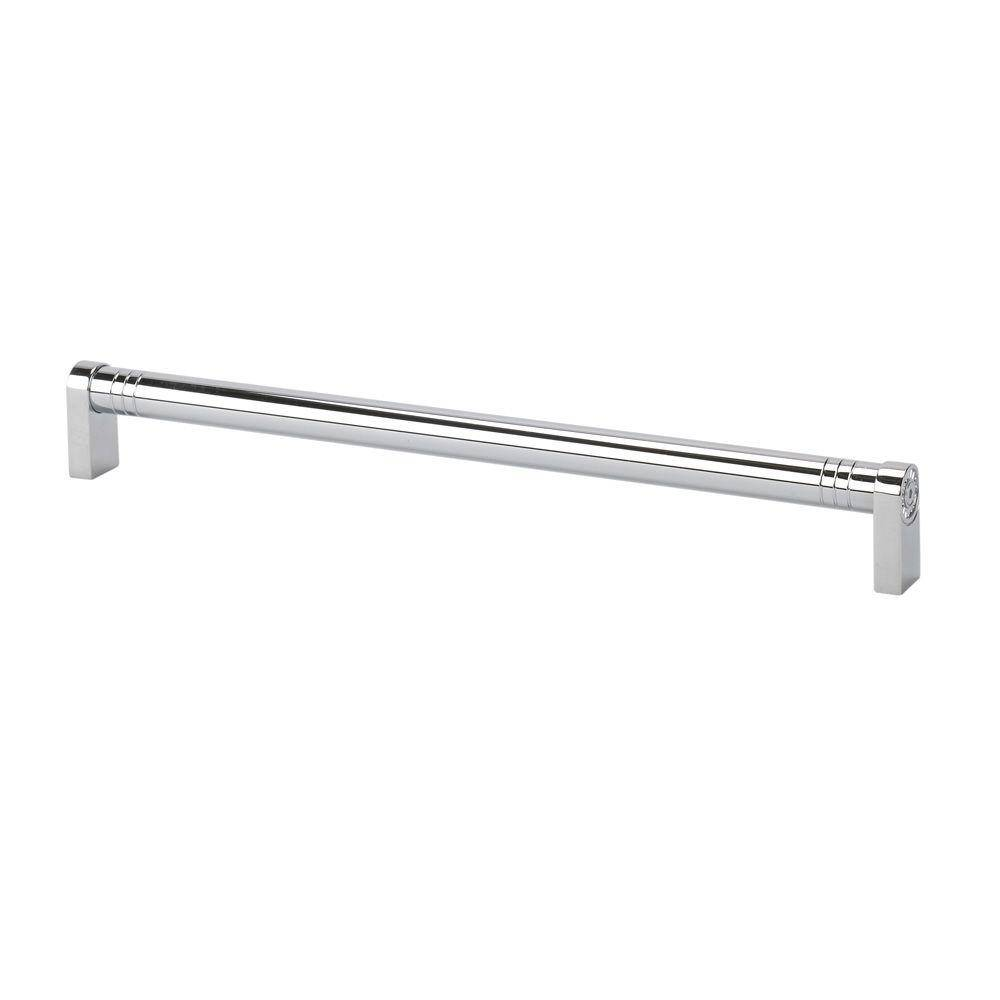 TOPEX Italian Designs Collection 13 in. Center-to-Center Chrome Round Kitchen Appliance Cabinet Pull