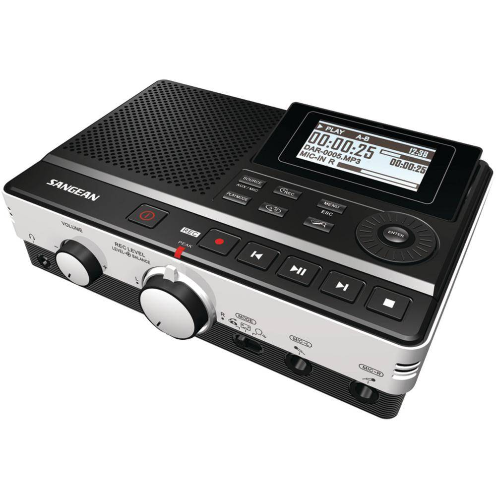 Digital Audio Recorder with Phone Answering Capability