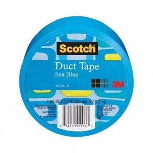 3M Scotch 1.88 in. x 20 yds. Blue Duct Tape (Case of 6)