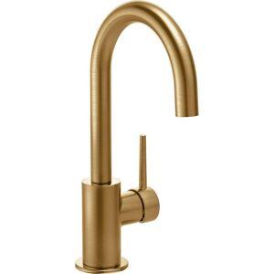 Delta Contemporary Single-Handle Bar Faucet in Champagne Bronze