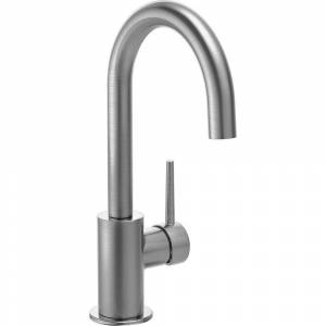 Delta Contemporary Single-Handle Bar Faucet in Arctic Stainless